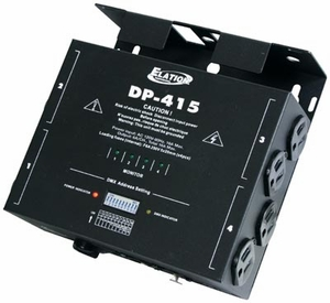 American DJ DP-415 4-Channel DMX Dimmer/Switch Pack