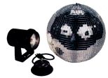 American Dj M-100L Mirror Ball Package