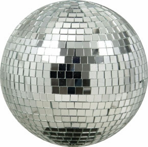 "American DJ M-800 8"" Glass Mirror Ball"