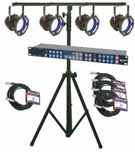 American DJ P64 LED PLUS System