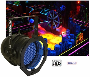 American DJ P64 LED/UV Par Can