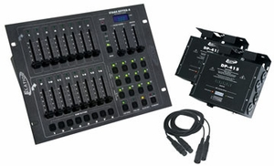 American DJ Stage Pack 1 Intelligent Lighting Controller Pack By Elation