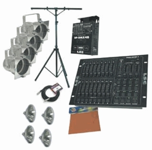 American DJ Stage System A Stand Lighting