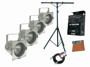 American DJ Stage System B Stand Lighting