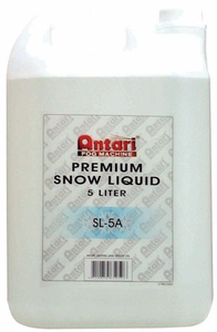 Antari SL-5A Dry/Quick Dissapating Snow Liquid for Snow Machine
