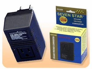 Deluxe Voltage Converter For Use In Europe - 50 Watts