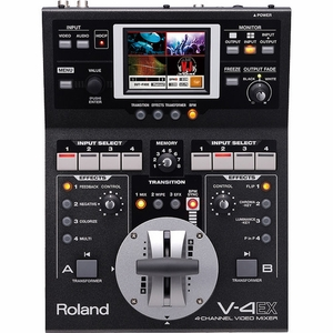 Edirol / Roland V-4EX Four Channel Digital Video Mixer with Effects