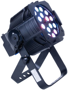 Elation OPTI Tri Par - 18 x 3W LED Wash Fixture