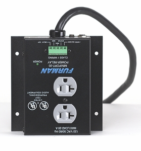 Furman MP-20 Power Relay and Outlet with Remote Turn-On (120V/20A) Free Shipping