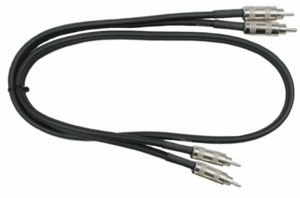 Hosa CRA-403 Dual Audio Interconnects RCA To RCA Professional - 3 FT