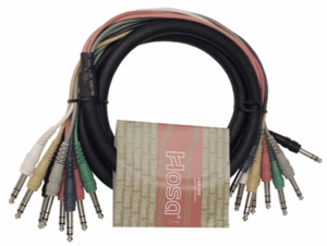 Hosa CSS-805 8-Channel Audio Snake 5M (16.5 FT)