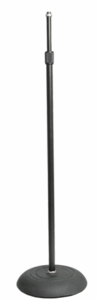 Hosa MST-383BLK Heavy Duty Weighted Stand