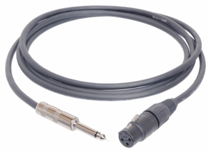 Hosa MXP-010 Microphone Cables For High Z Mics - 10 FT