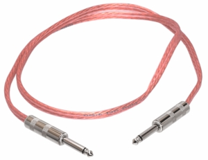 Hosa SKM-603 16-AWG Clear Jacketed Speaker Cable - 3FT