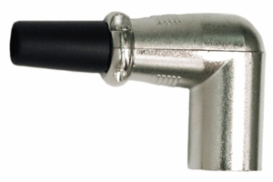 Hosa XRR-319M Right-Angle XLR Connector (M)
