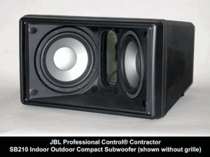 JBL Control SB-210 Compact Low Profile High Power
