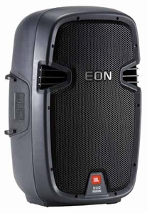 "JBL EON 510 Portable Self-Powered 10"" Two-Way Bass-Reflex Design"