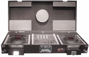 Odyssey CPi6800 Pioneer Carpeted CD DJ Coffin
