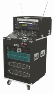 Odyssey CS4812W Slide Style Rack - Carpeted