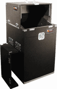 Odyssey CS4814W Slide Style Rack - Carpeted