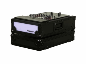 Odyssey FFX10MIXBL Mixer Case with Light in Black Label Case