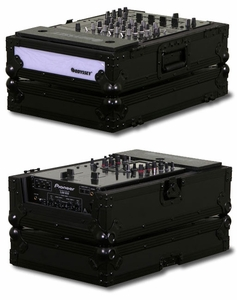 Odyssey FFX12MIXBL DJ Mixer with Light in Black Label Case