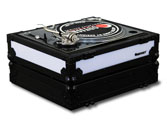 Odyssey FFX2LBM1200BL Glide Style with Light Turntable Case Black Label
