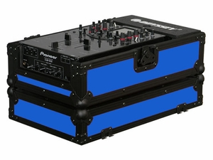 "Odyssey FR10MIXBKBLUE Designer DJ Series Case For 10"" Mixers"
