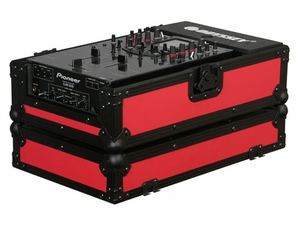 "Odyssey FR10MIXBKRED Designer DJ Series Case For 10"" Mixers"