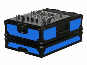 "Odyssey FR12MIXBKBLUE Designer DJ Series Case For 12"" Mixers"