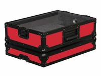 "Odyssey FR12MIXBKRED Designer DJ Series Case For 12"" Mixers"
