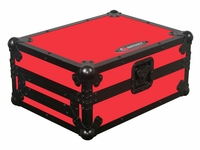 Odyssey FRCDJBKRED Large Format CD Player Case - Designer Series