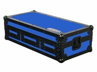 Odyssey FRDNX1200BKBLUE Denon CD DJ Coffin Case