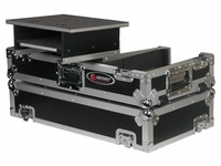 Odyssey FRGS4400W Glide Style CD DJ Coffin With Wheels