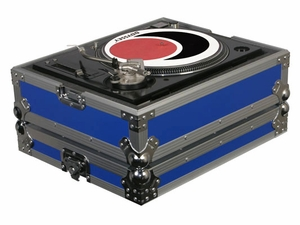 Odyssey FTTX BLU Flight Style Turntable Case - Blue
