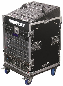 Odyssey FZ1112W Combo Rack With Wheels - Flight Zone Series