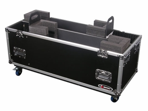 "Odyssey FZ2PLASMA42W Universal Dual 42"" Plasma Case With Wheels"