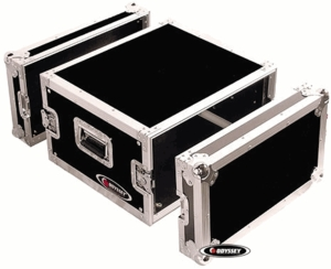 Odyssey FZAR6 6-Space Amp Rack Case - Flight Zone Series