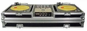 Odyssey FZBM10W CD DJ Coffin Case - ATA Rated Battle Mode With Wheels