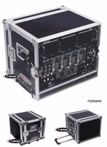 Odyssey FZER8HW Rolling Effects Rack - Flight Zone Series