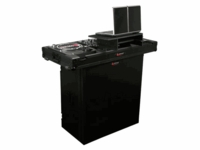 Odyssey FZF3336BL Foldable DJ Stand - Black Label Series