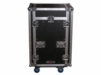 Odyssey FZGS1116W Glide Style 11x16-Space Combo Rack Case With Wheels