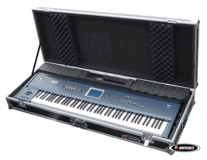 Odyssey FZKB88W Keyboard Case With Wheels
