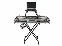 Odyssey LTBXS2 Heavy Duty Double Tier X Stand