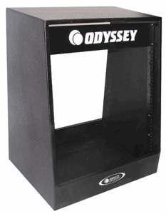 Odyssey PSR14W Studio Rack With Wheels - Painted Finish
