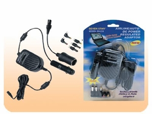 Seven Star SS-218 Airline/Auto DC Power Regulated Adaptor