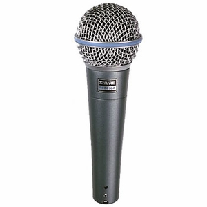 Shure Beta 58A Vocal Microphone 50Hz To 16kHz