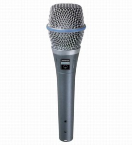 Shure Beta 87A Vocal Microphone 50hZ To 20kHz
