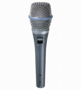 Shure Beta 87C Vocal Microphone 50Hz To 20kHz