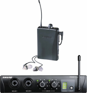Shure P2TRE2-H2 Wireless Personal Monitor System With Mix Control - Free Shipping